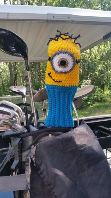 Minion Golf Cover 1