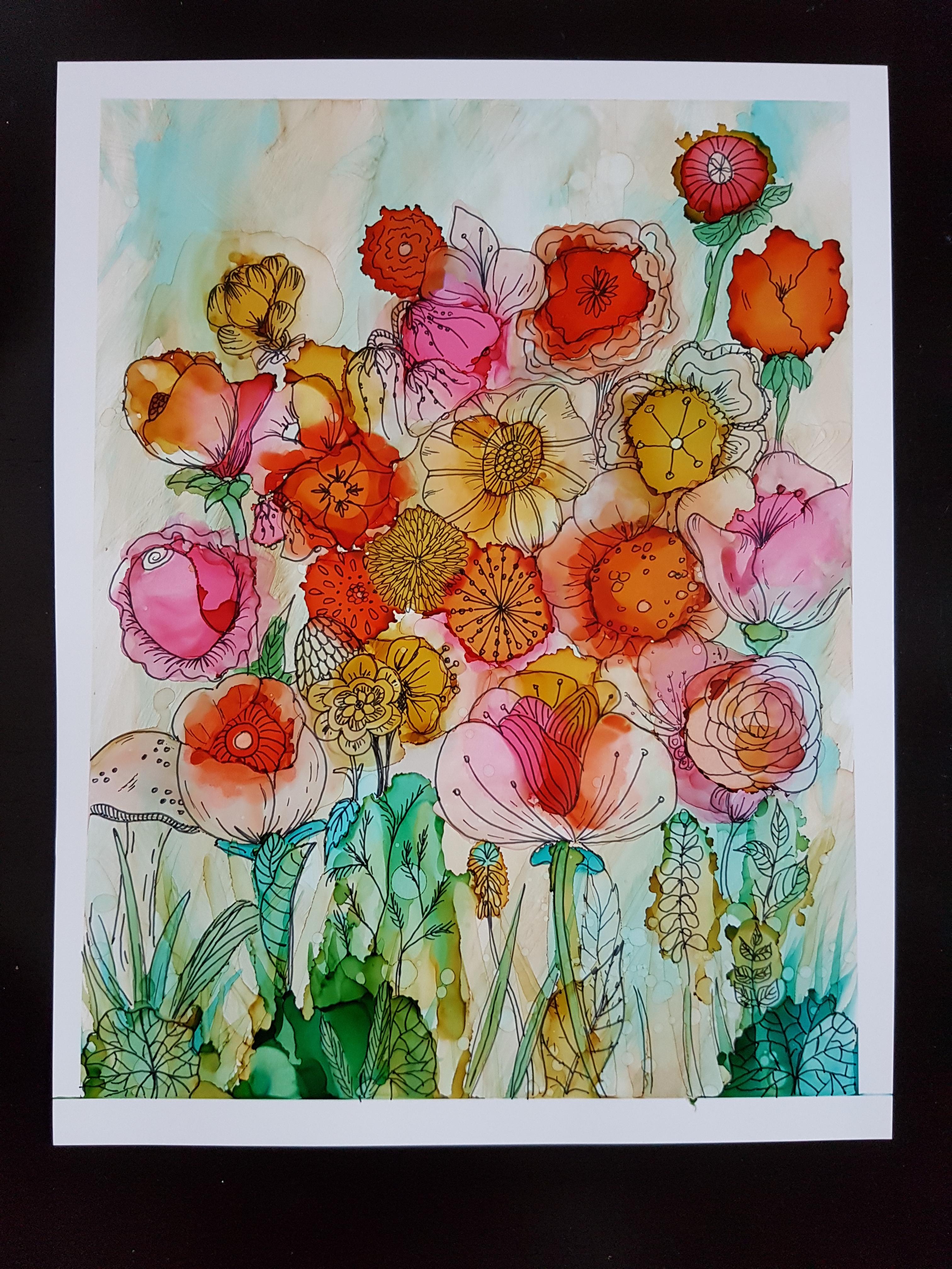 20190217_flower doodle