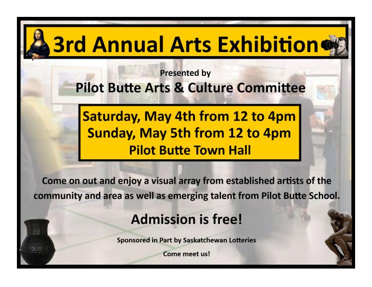 Pilot Butte Poster